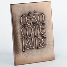 Wild Goose Cead Mile Failte Bronze Placque from Ever Irish Gift