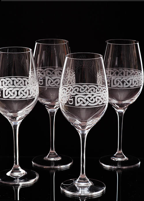 Celtic Knot Wineglass Collection