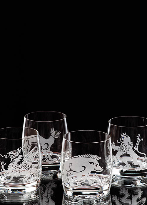 Beastia Whiskey Glass Collection