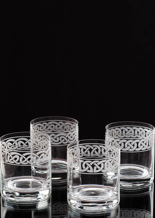 Celtic Knot Whiskey Glass Collection