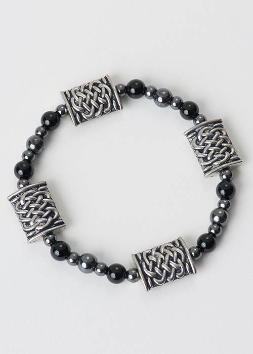 Celtic Black Onyx Bracelet