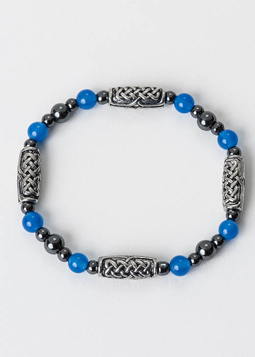Celtic Blue Onyx Bracelet