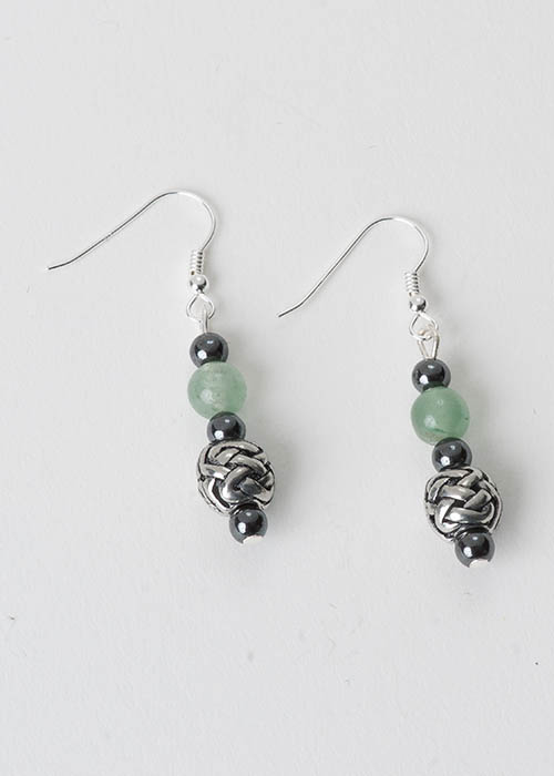 Celtic Aventurine Earrings