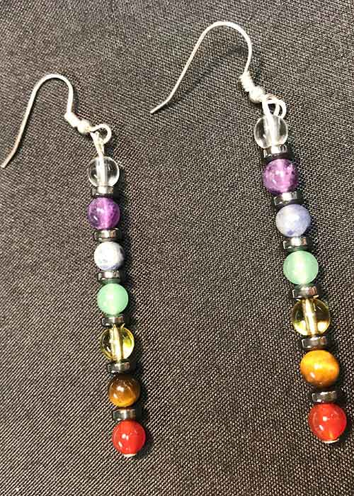 Celtic Chakra Earrings
