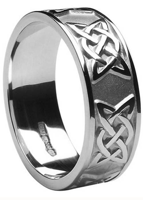Gents Wedding Ring - Lovers Knot