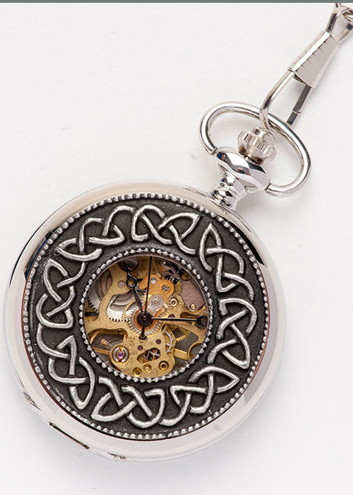 Celtic Pocket Watch - Knot Work