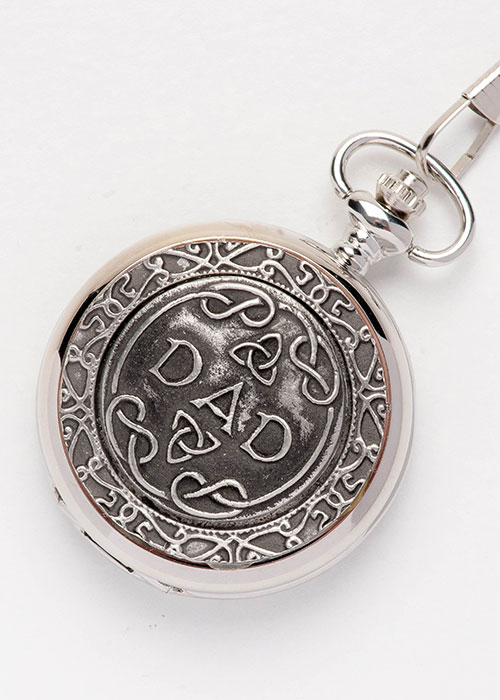 Celtic Pocket Watch - Dad