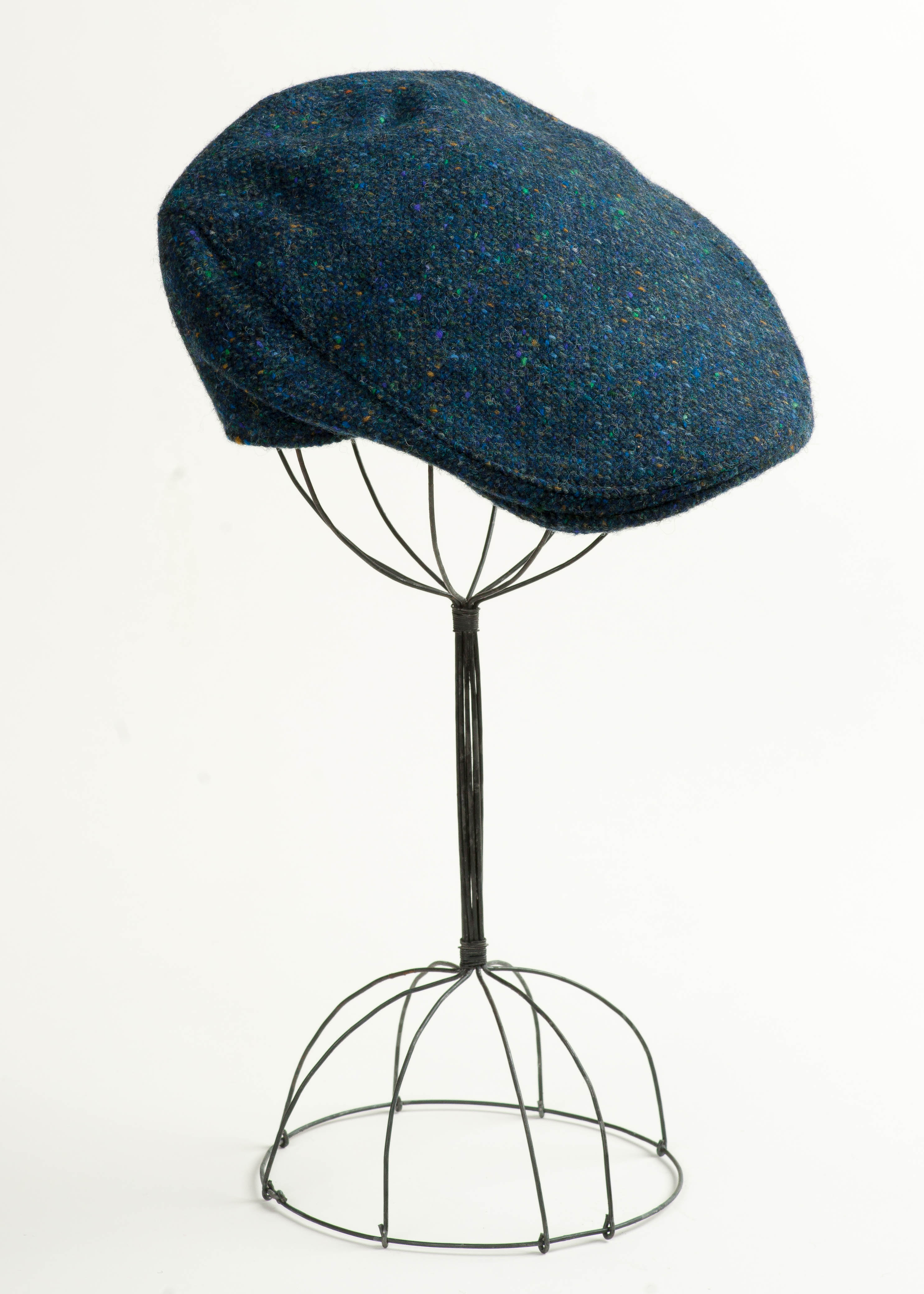 Irish Tweed Touring Cap - Blue