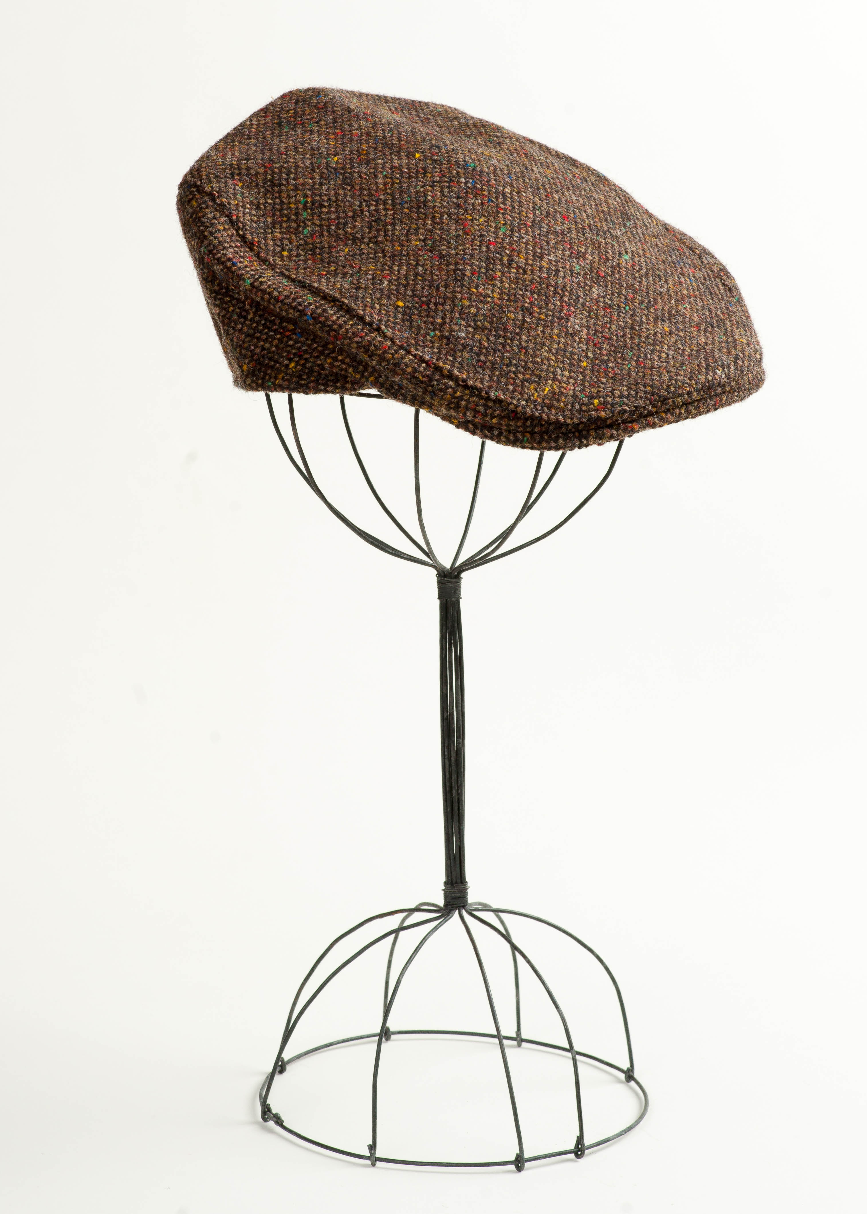 Irish Tweed Touring Cap - Brown
