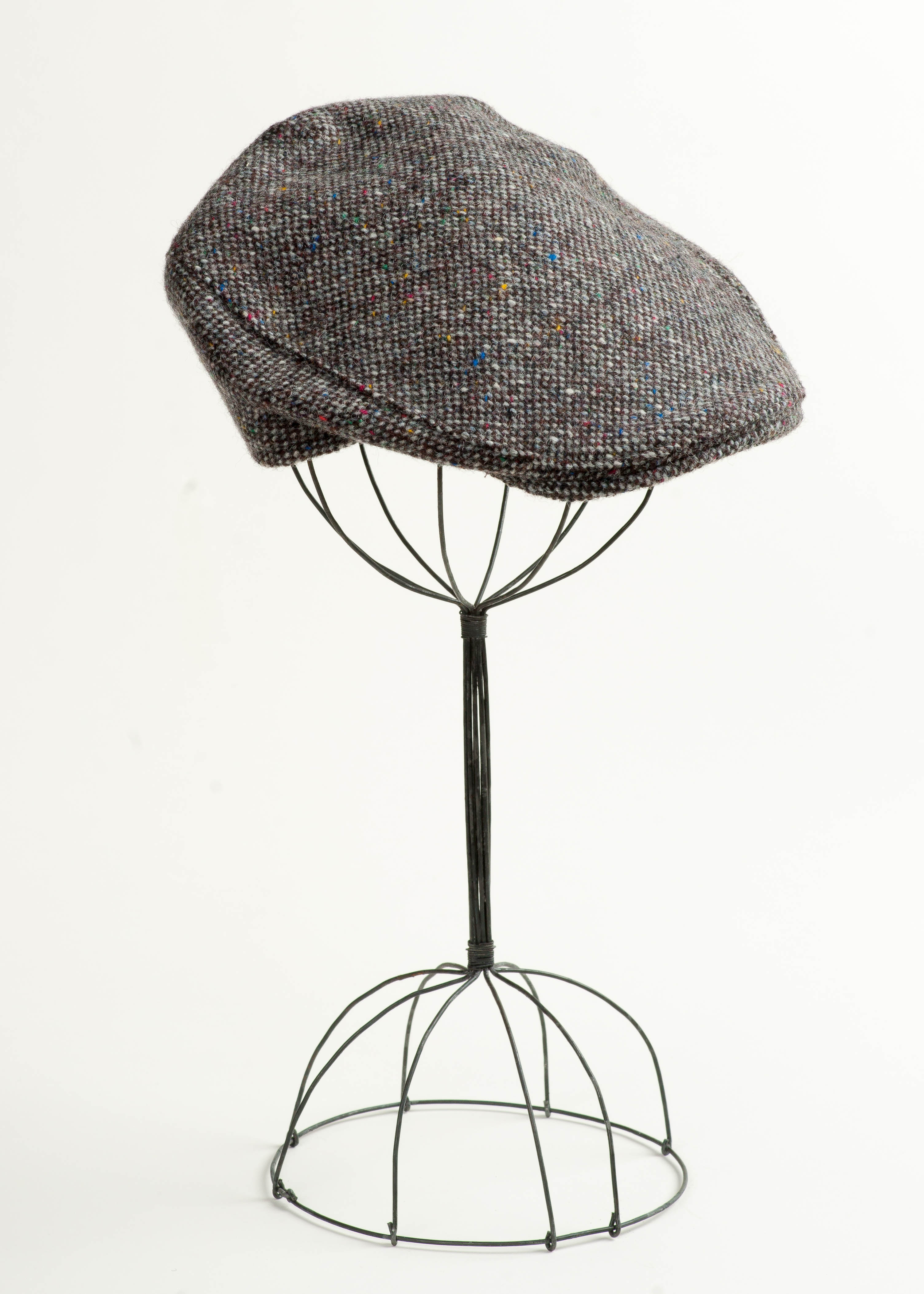 Irish Tweed Touring Cap - Grey