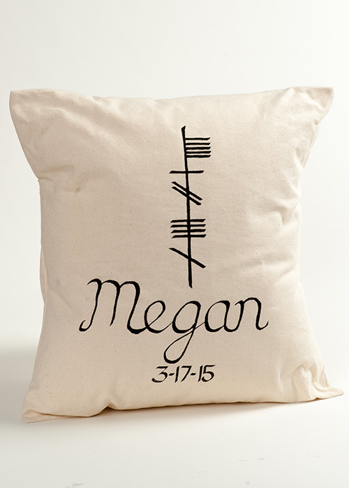 Irish baby personalized irish baby pillow negle Gallery