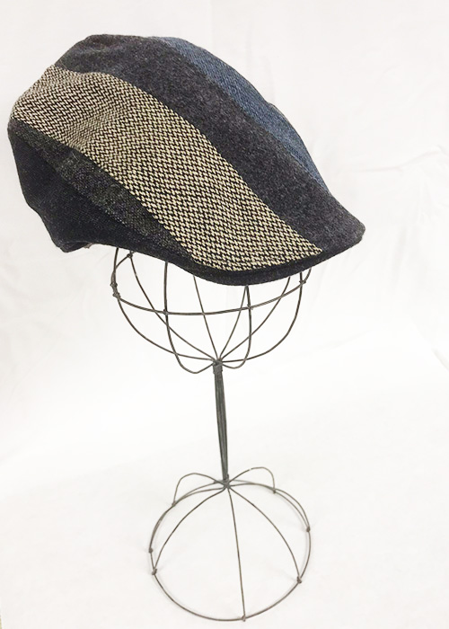 Irish Tweed Touring Cap - Striped Patch