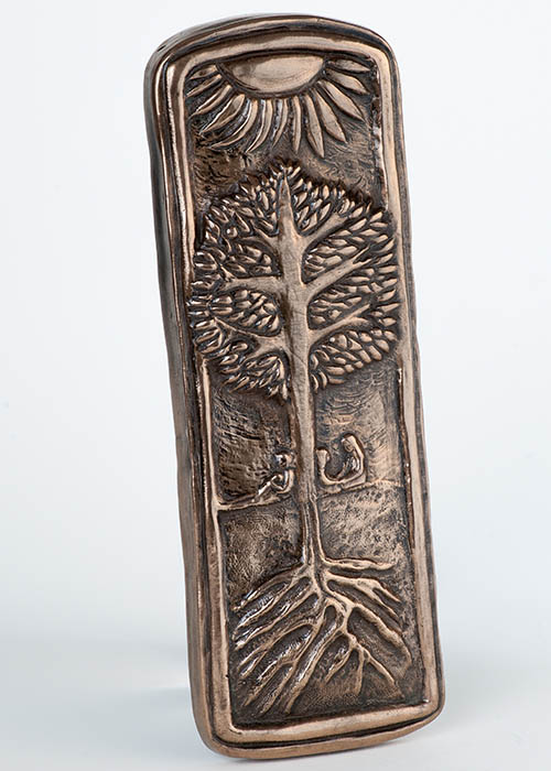 Bronze Wall Plaque - Family Tree